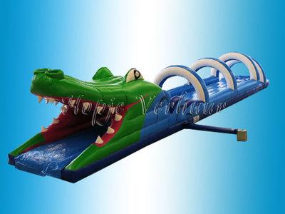 Buikschuifbaan Krokodil