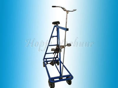 Gekke hoge fiets