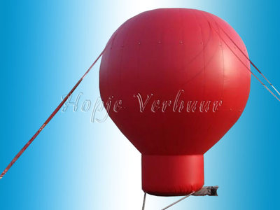 Spandoek ballon voor Abraham of Sarah