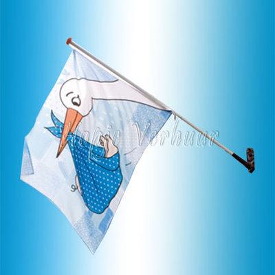Gevel vlag jongen