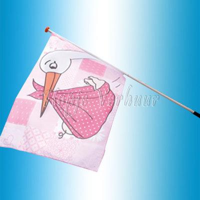 Gevel vlag meisje