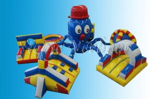 Kinder stormbaan Octopus