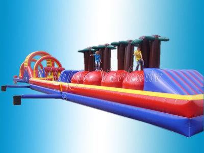 Stormbaan met dubbele bounce off baan 35 meter