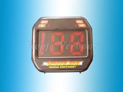 Snelheids meter sportradar