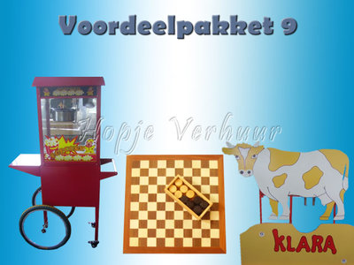 Voordeelpakket 9 Oud hollandse spellen