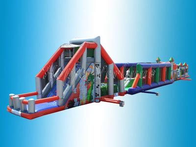 Megabaan 49 of 66 meter Base jump / Bouncing balls / Terror course stormbaan