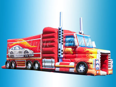 Stormbaan vrachtwagen