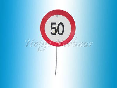 Verkeersbord 50