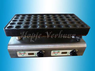 Elektrische poffertjesplaat 50 dops