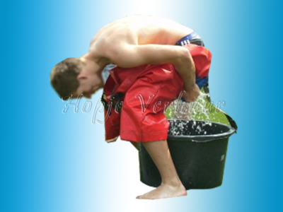 Sponsbroek of waterkakrace -2 stuks met 2 waterbakken