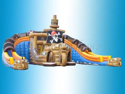 Mega glijbaan Piraat